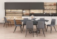 Geneva Dining Table & 6 Dining Chairs